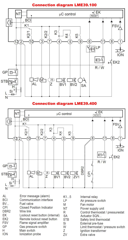 SIEMENS LME39 SCHEMA_ELECTRICA